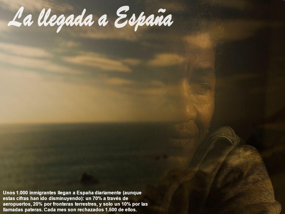 La llegada a España