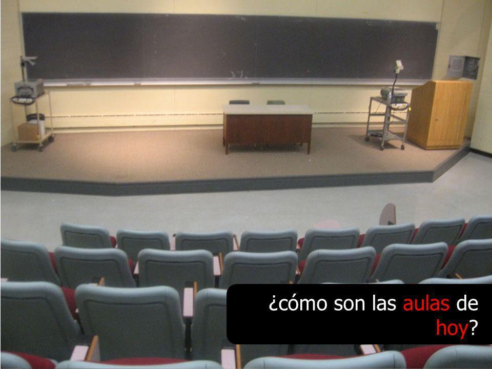 ¿cómo son las aulas de hoy