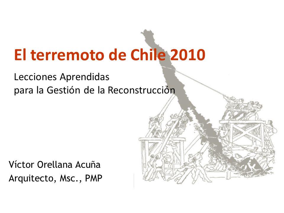 Víctor Orellana Acuña Arquitecto, Msc., PMP
