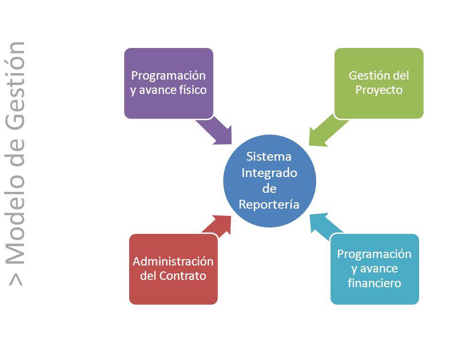 > Modelo de Gestión Sistema Integrado de Reportería
