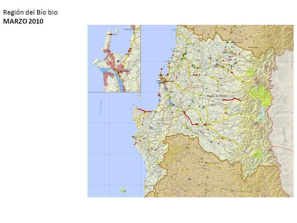 Región del Bío bio MARZO 2010