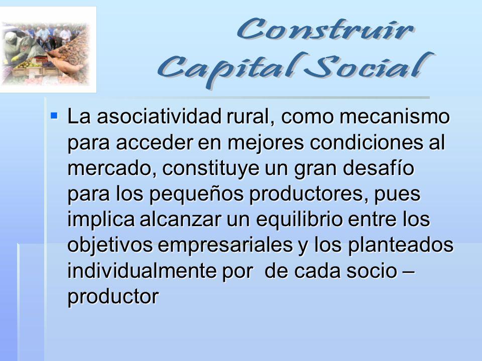 Construir Capital Social