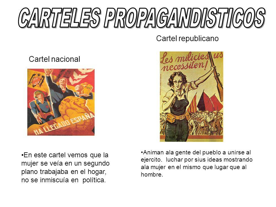 CARTELES PROPAGANDISTICOS
