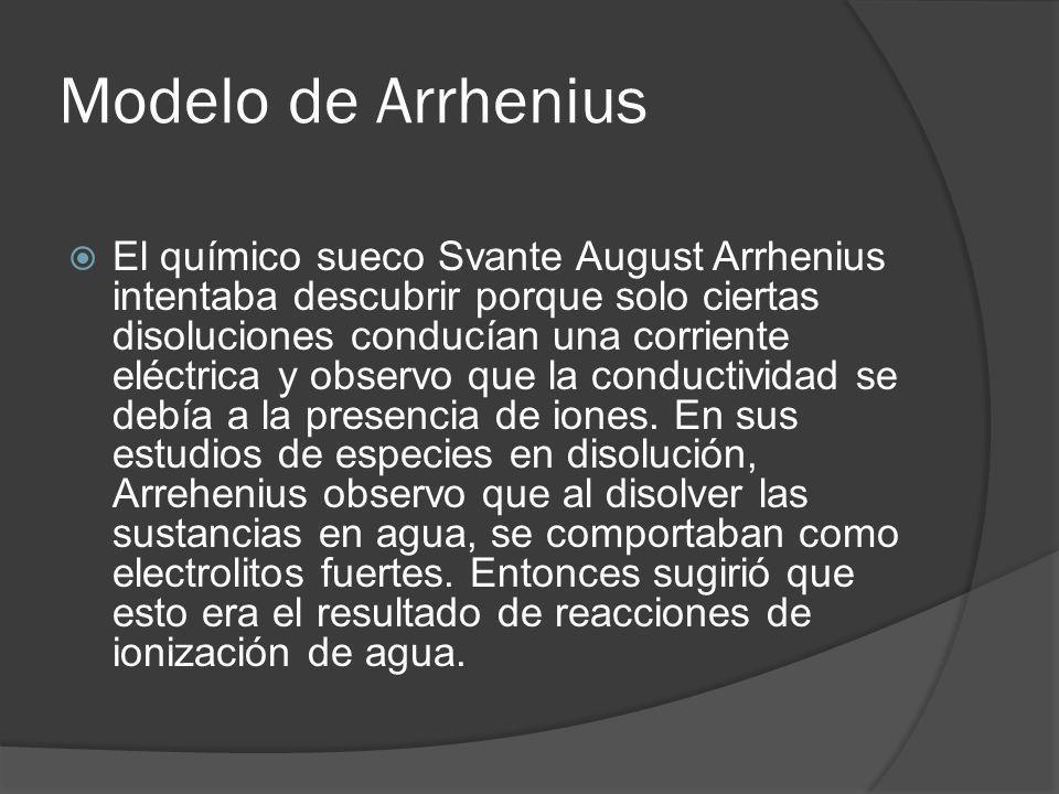 Modelo de Arrhenius