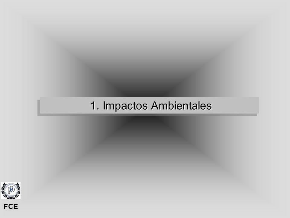 1. Impactos Ambientales FCE