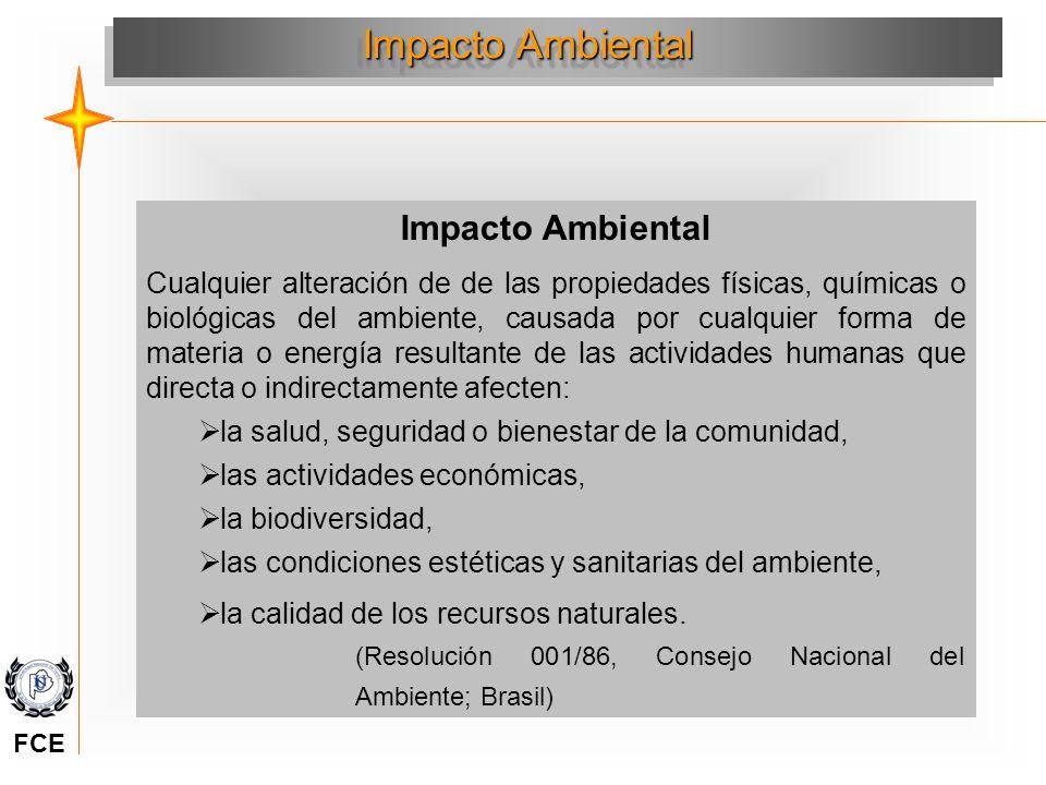Impacto Ambiental Impacto Ambiental