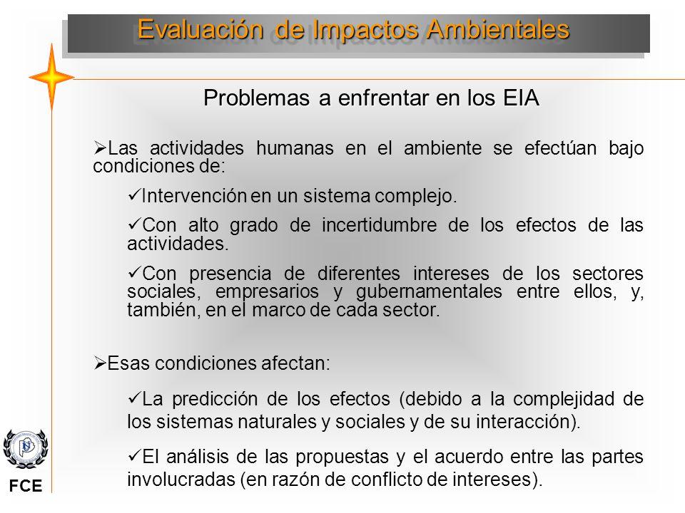 Evaluación de Impactos Ambientales