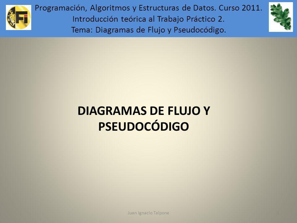 DIAGRAMAS DE FLUJO Y PSEUDOCÓDIGO