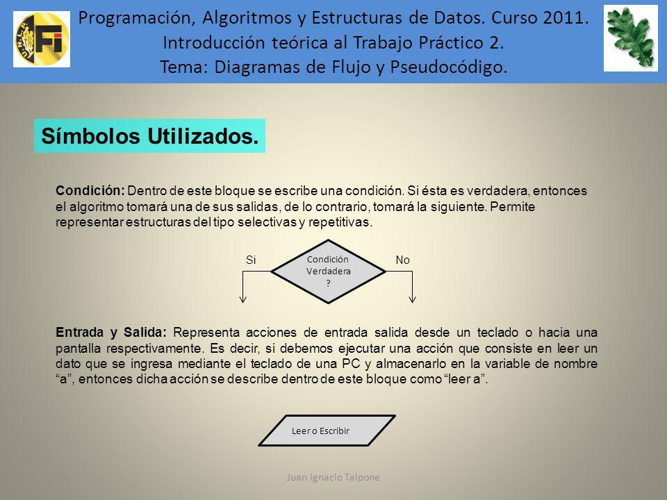 Programación, Algoritmos y Estructuras de Datos. Curso 2011