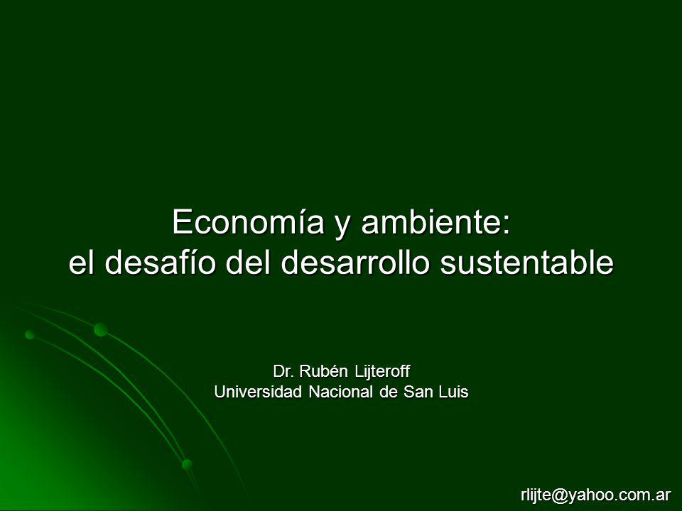 el desafío del desarrollo sustentable
