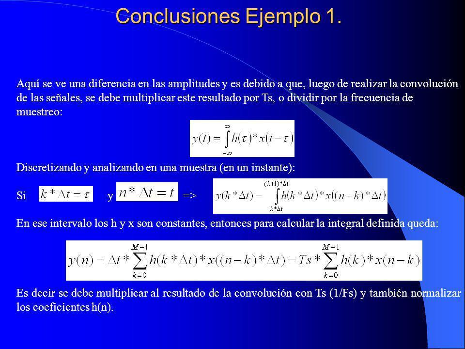 Conclusiones Ejemplo 1.