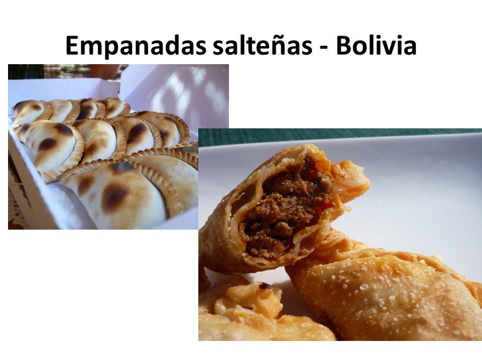 Empanadas salteñas - Bolivia