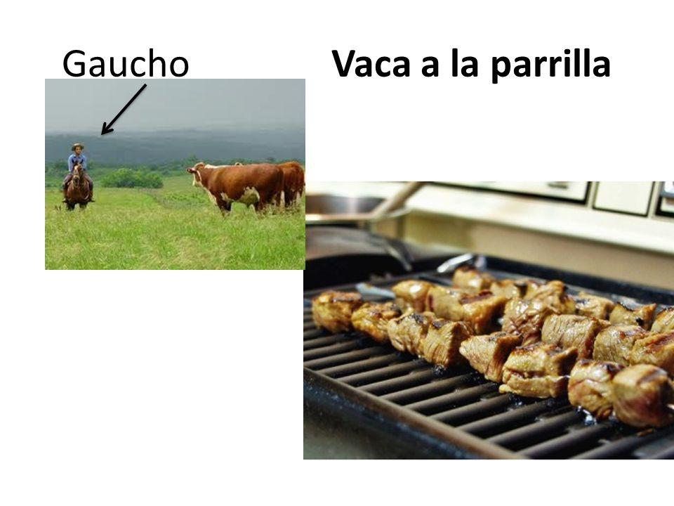 Gaucho Vaca a la parrilla