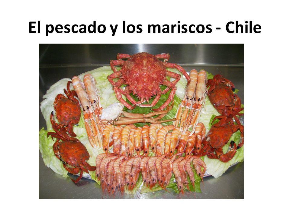 El pescado y los mariscos - Chile