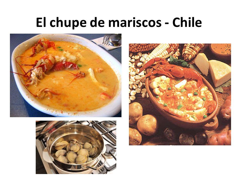 El chupe de mariscos - Chile