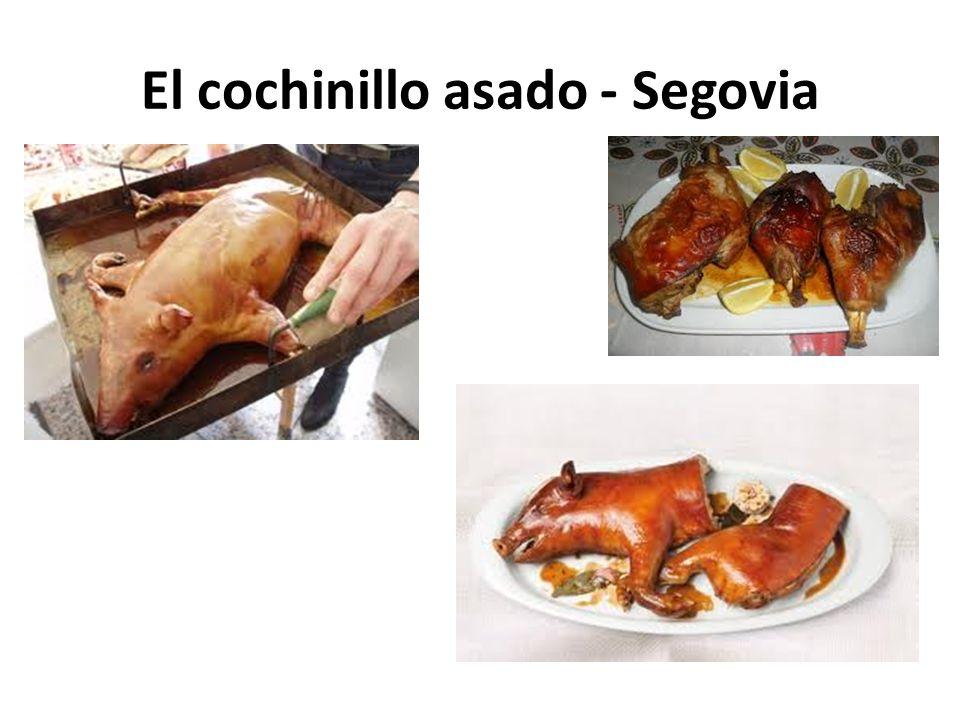 El cochinillo asado - Segovia