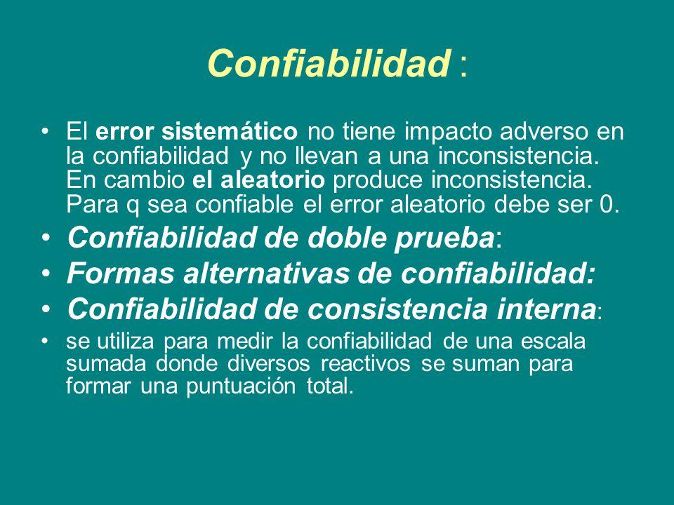 Confiabilidad : Confiabilidad de doble prueba: