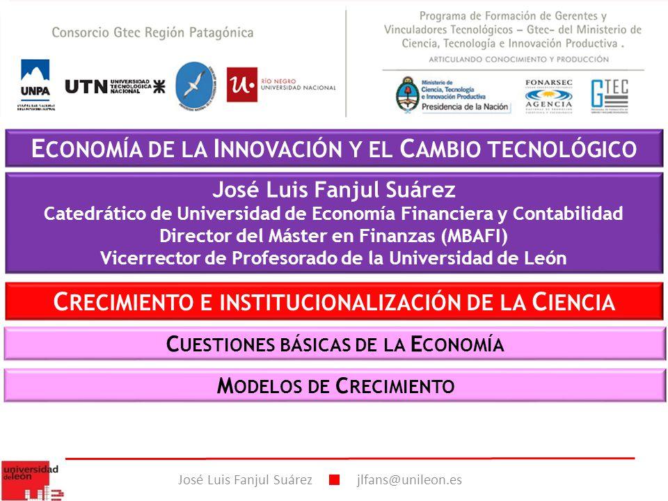ECONOMÍA DE LA INNOVACIÓN Y EL CAMBIO TECNOLÓGICO