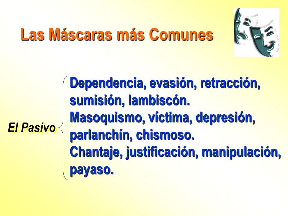Las Máscaras más Comunes