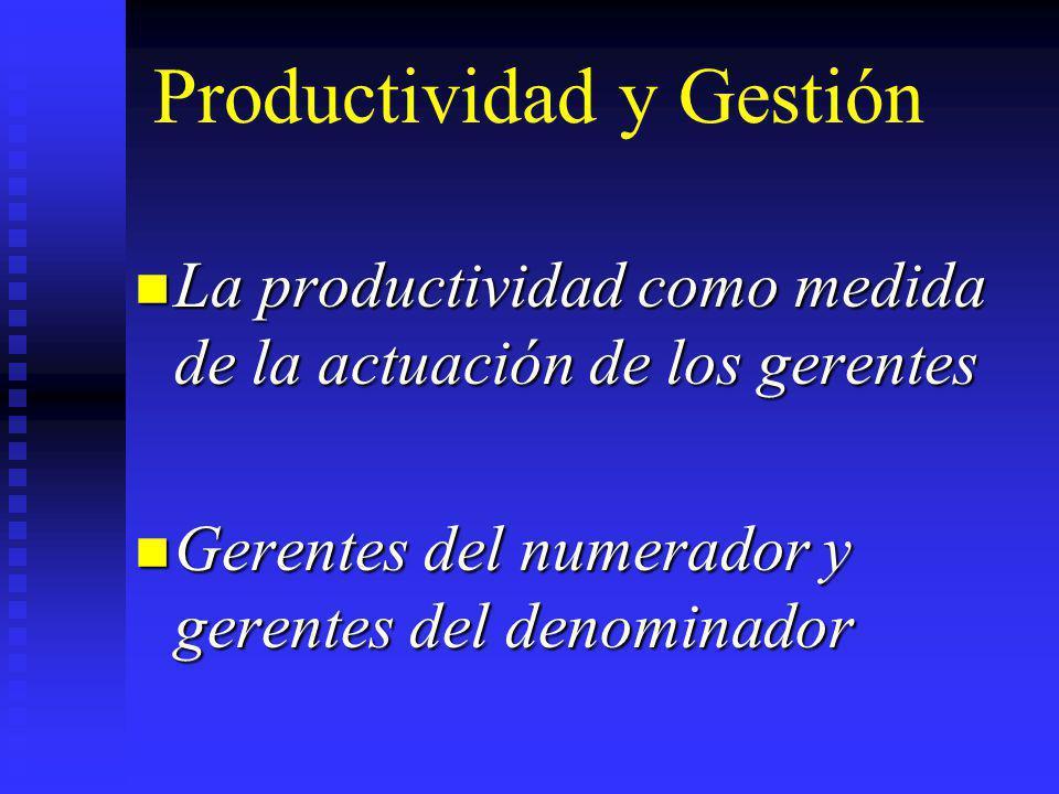 Productividad y Gestión