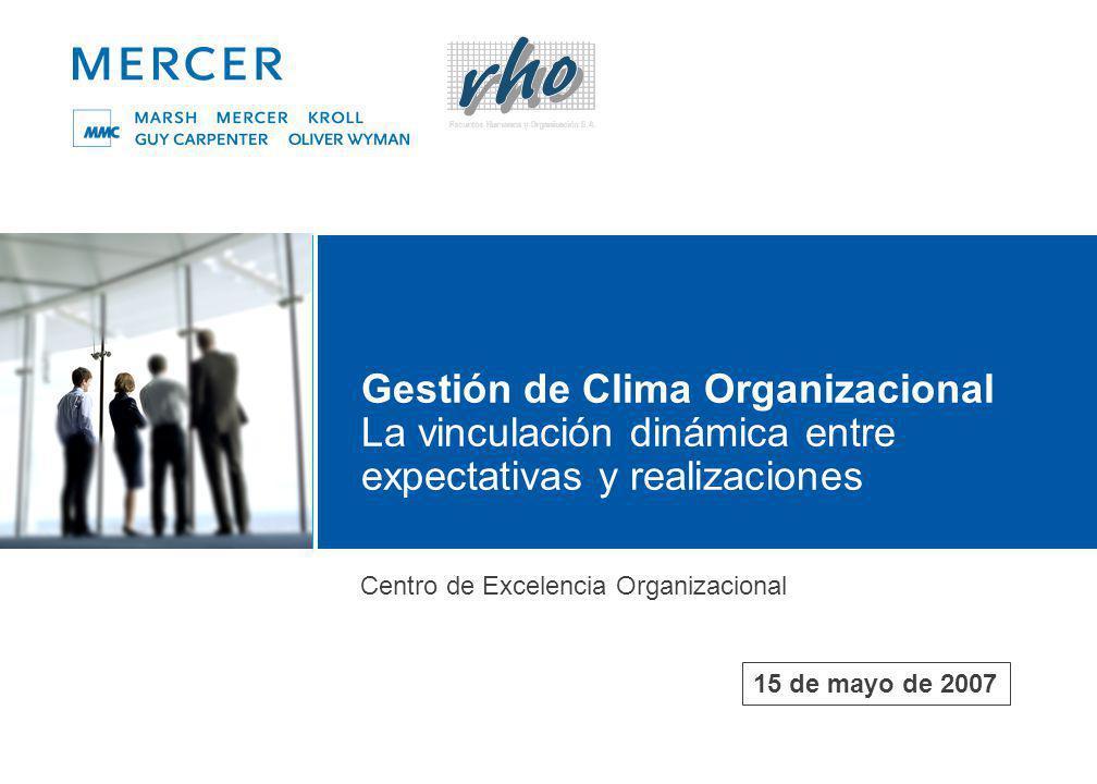 Clima y Cultura Organizacional Análisis, Diagnóstico y Gestión