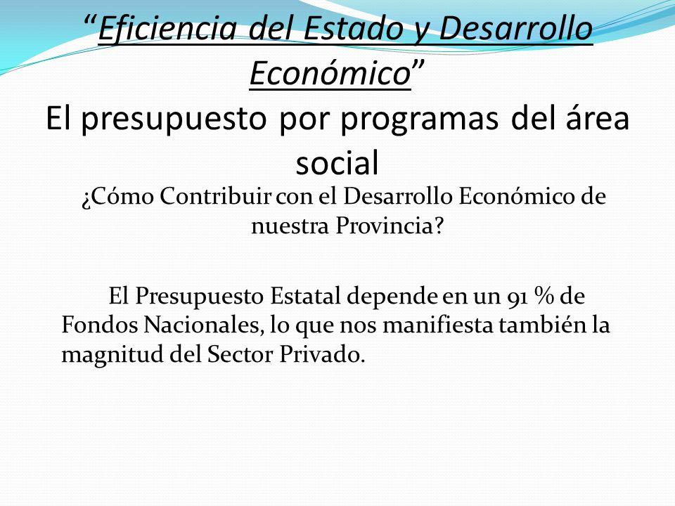 ¿Cómo Contribuir con el Desarrollo Económico de nuestra Provincia
