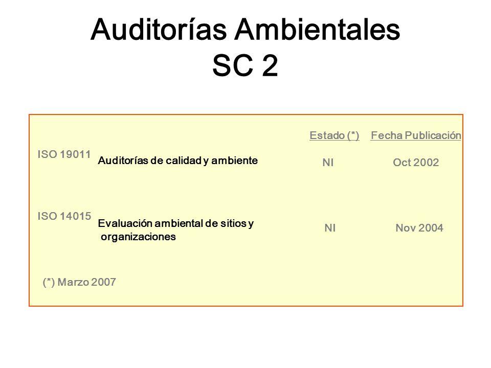 Auditorías Ambientales SC 2