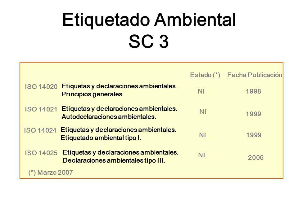 Etiquetado Ambiental SC 3