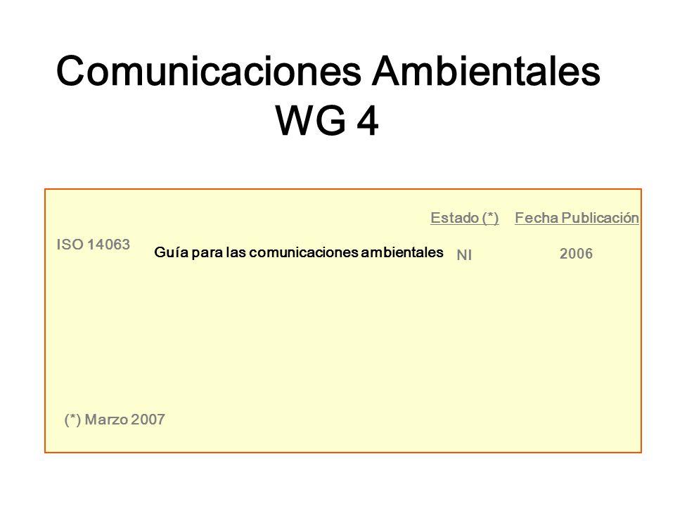 Comunicaciones Ambientales