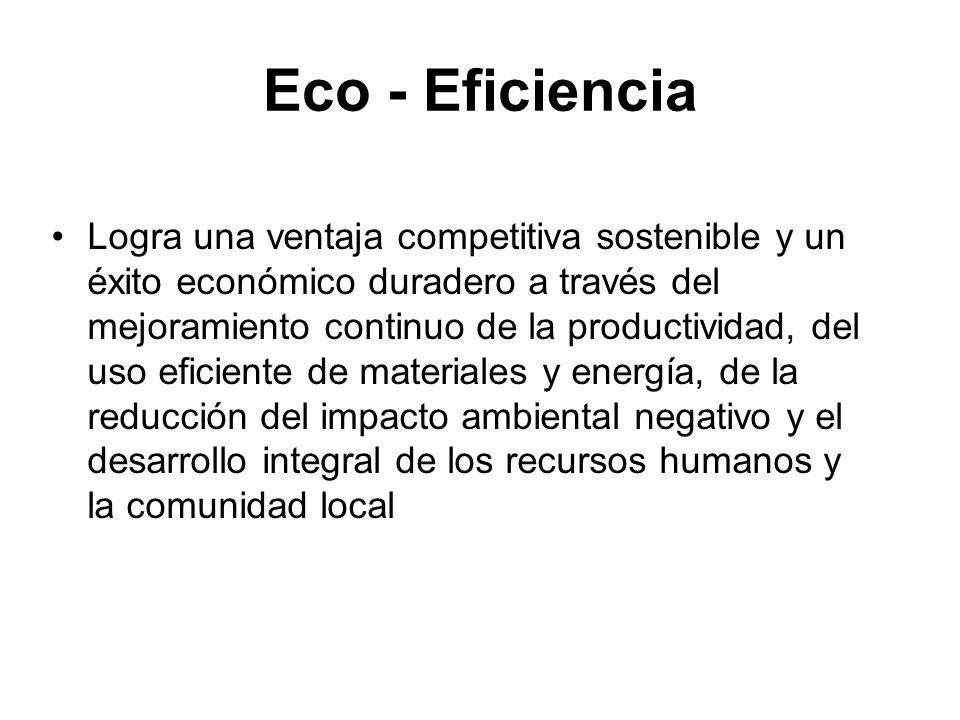 Eco - Eficiencia