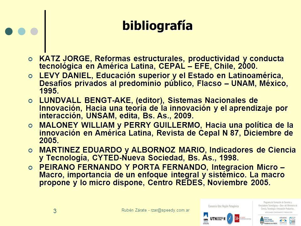 Rubén Zárate - rzar@speedy.com.ar