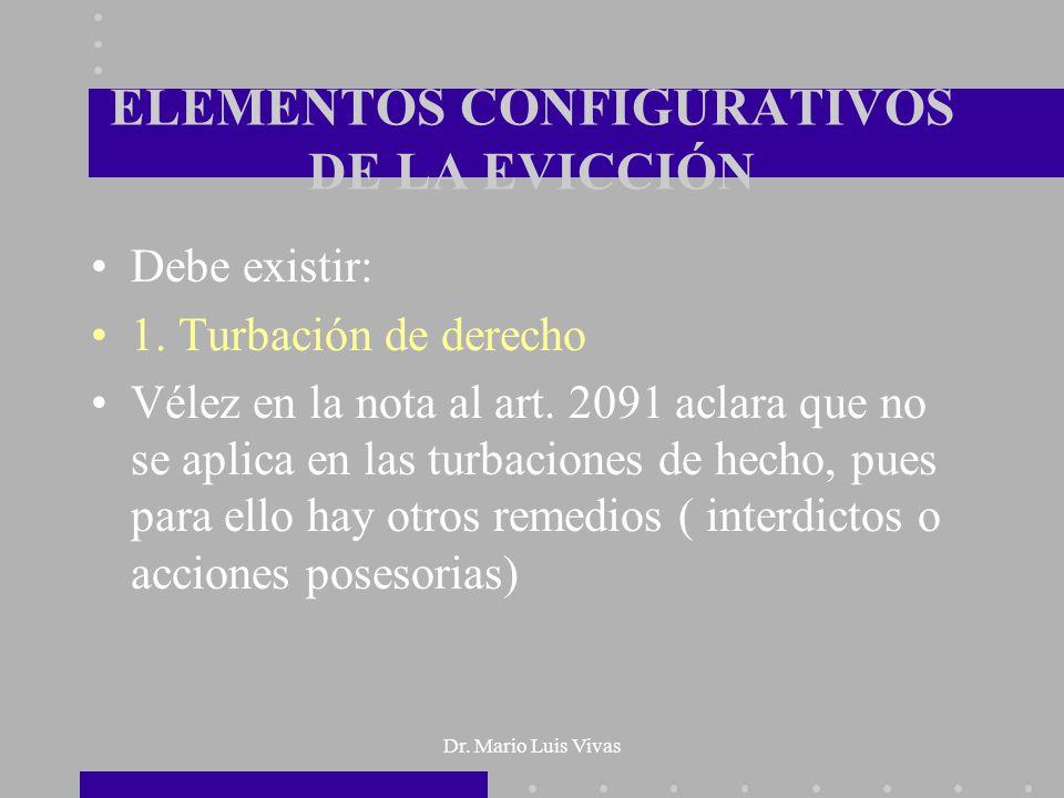 ELEMENTOS CONFIGURATIVOS DE LA EVICCIÓN
