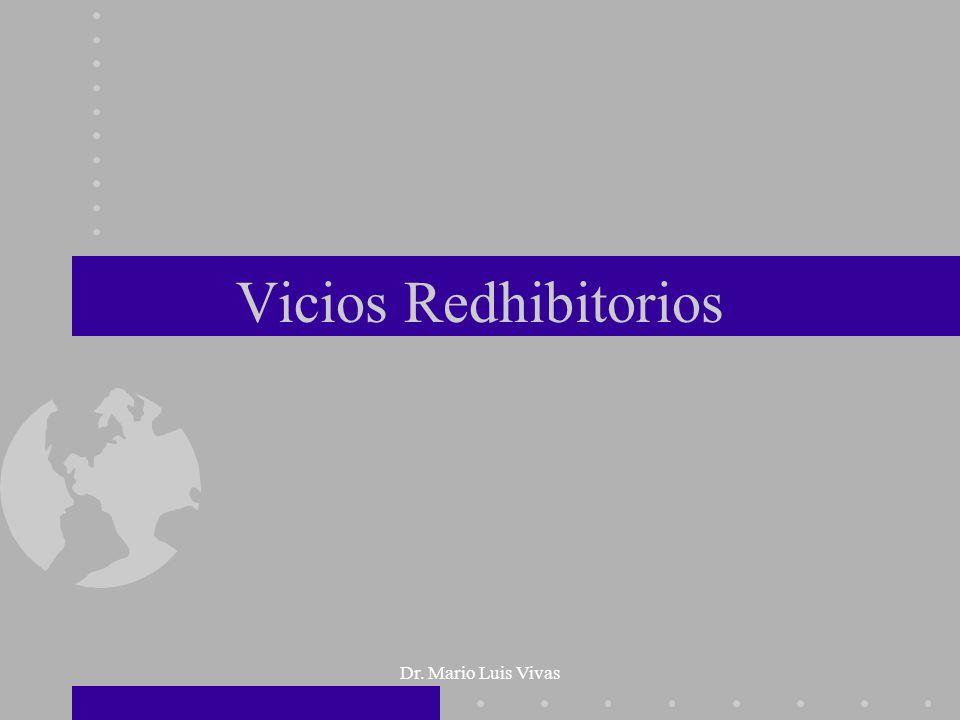 Vicios Redhibitorios Dr. Mario Luis Vivas