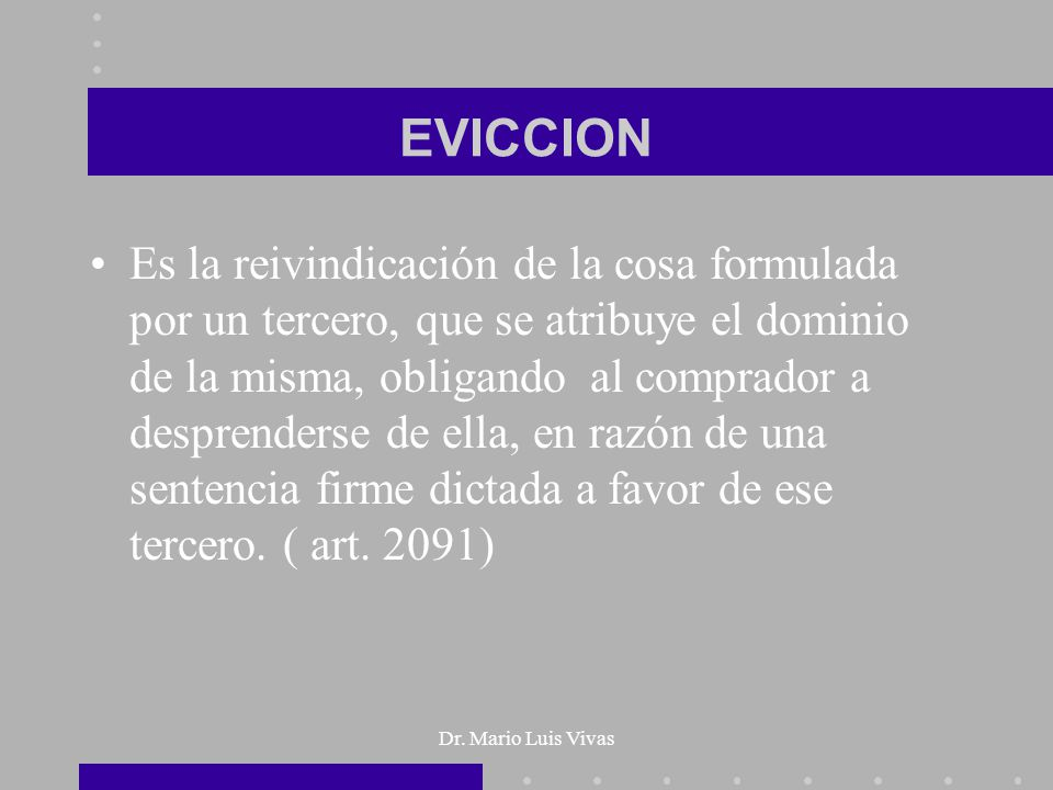 EVICCION