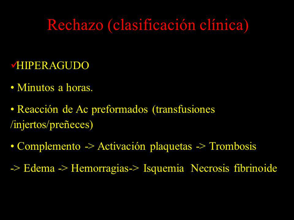 Rechazo (clasificación clínica)