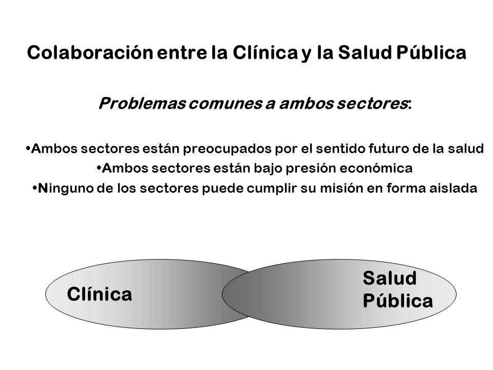 Colaboración entre la Clínica y la Salud Pública