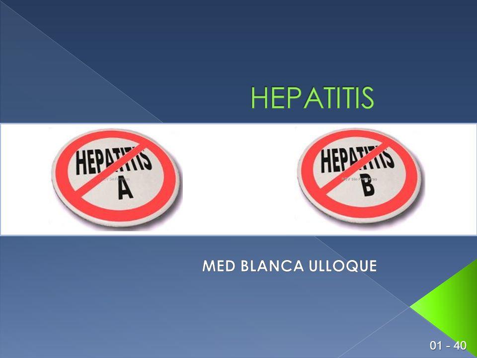 HEPATITIS MED BLANCA ULLOQUE 01 - 40