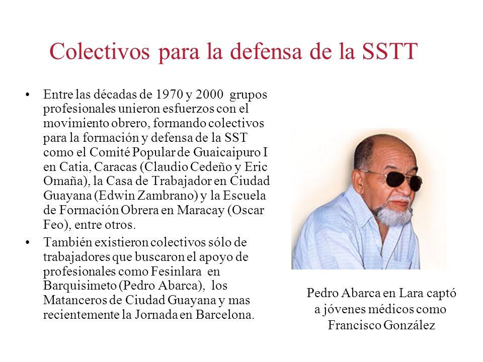 Colectivos para la defensa de la SSTT