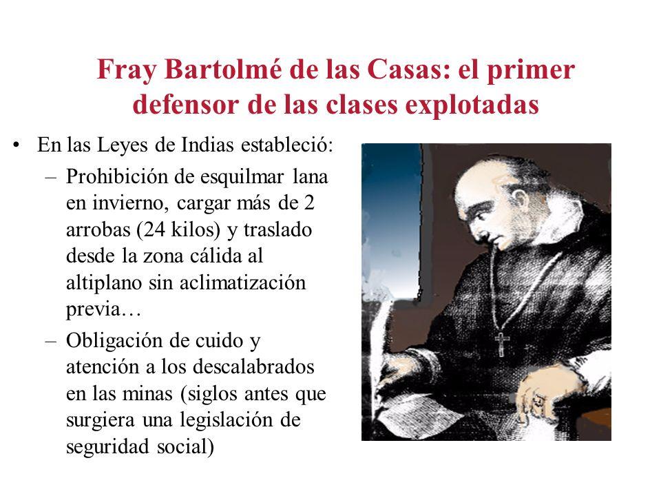 Fray Bartolmé de las Casas: el primer defensor de las clases explotadas