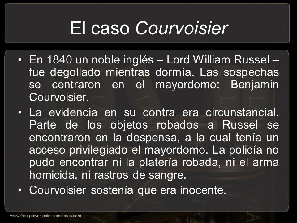 El caso Courvoisier