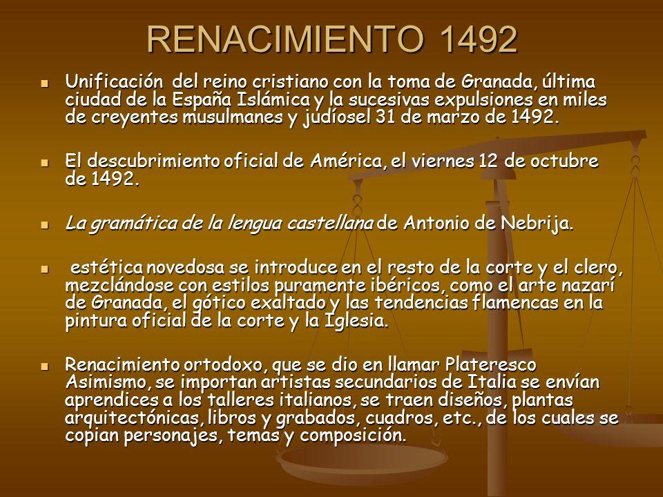 RENACIMIENTO 1492