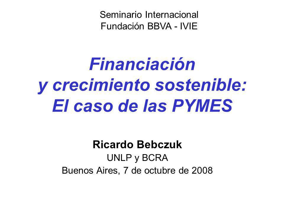 Financiación y crecimiento sostenible: El caso de las PYMES