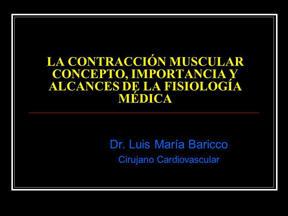 Dr. Luis María Baricco Cirujano Cardiovascular