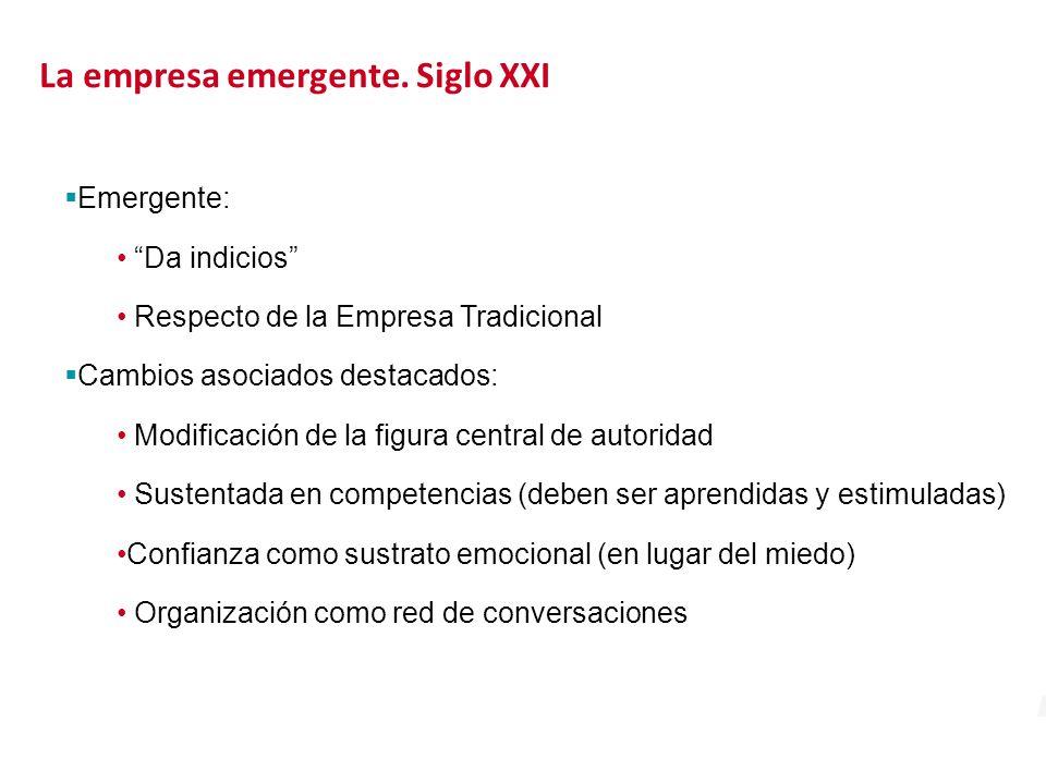 La empresa emergente. Siglo XXI