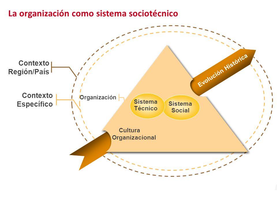 La organización como sistema sociotécnico