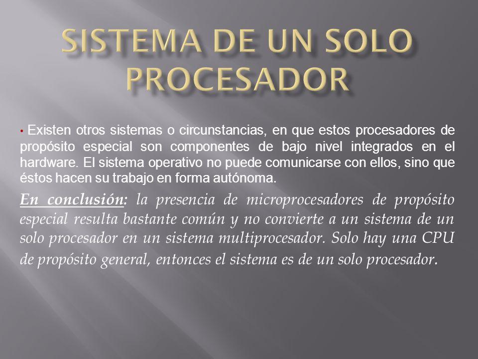 Sistema de un solo procesador