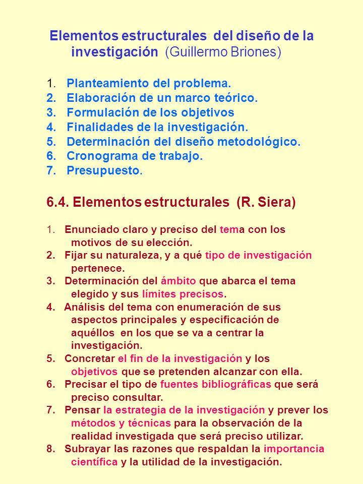 6.4. Elementos estructurales (R. Siera)