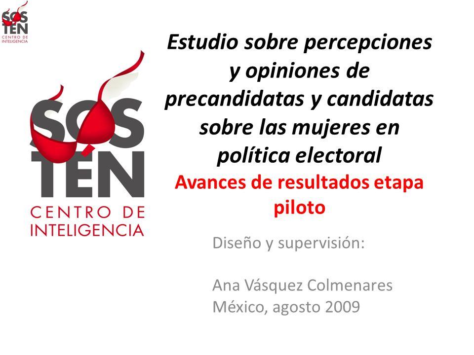 Diseño y supervisión: Ana Vásquez Colmenares México, agosto 2009