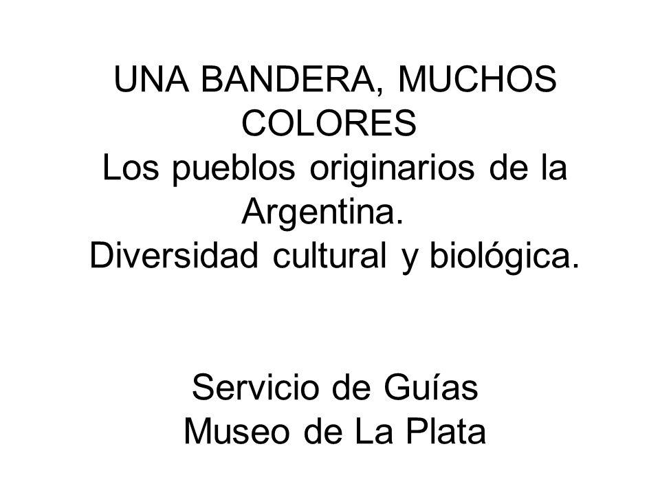 UNA BANDERA, MUCHOS COLORES Los pueblos originarios de la Argentina