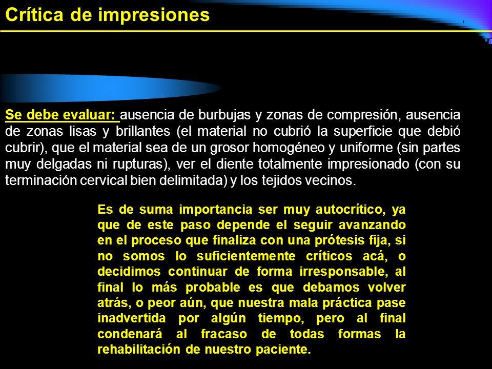 Crítica de impresiones